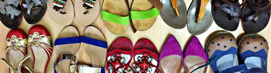 My sin? My sandals!